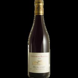 Vin rouge AOP  Mercurey Château de Santenay la Brigardière, bouteillede 75 cl