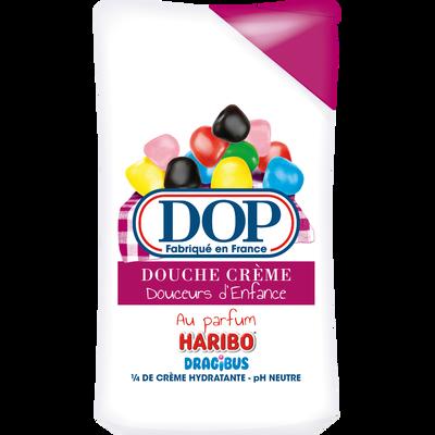 Douche crème douceurs d'enfance dragibus DOP, flacon de 250ml