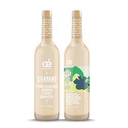 OE L'EGAYANT Bugey AOC blanc Chardonnay, 2018, 75 cl, labels B Corpt et AB, garanti sans trace de pesticides ni matière animale