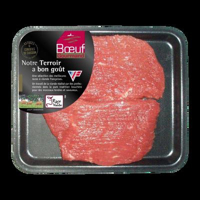 Viande bovine - Steak *, à griller, BOEUF GOURMAND, France, 2 pièces