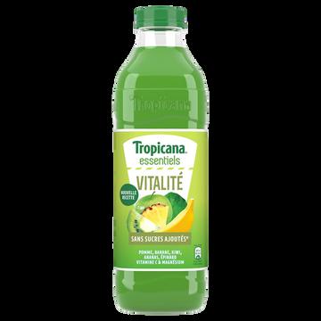 Tropicana Jus De 5 Fruits Épinard Enrichi En Vitamines C Et Magnésium Tropicana,1l