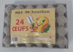 24 Gros oeufs de pays Ardéchois MAS DE BOUCHON