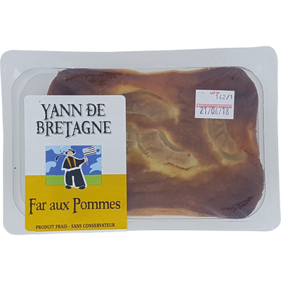 Far breton pommes, 1 pièce, 350g