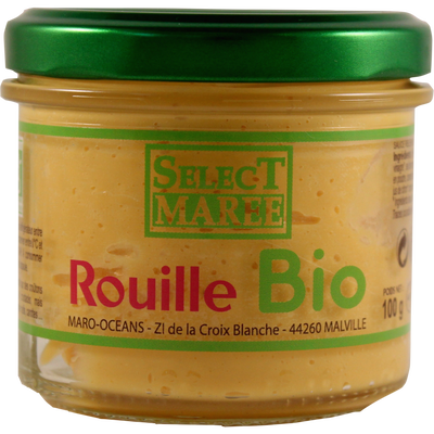 Sauce rouille bio SELECT MAREE, 100g