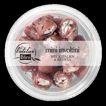 Blini Mini Involtini Roulé De Jambon Speck Et Ricotta Atelier Blini 120g