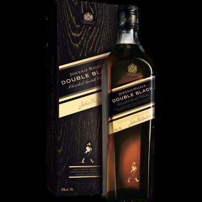 Scotch whisky 12 ans d'âge JOHNNIE WALKER Black Label, 40°, bouteillede 70cl + étui