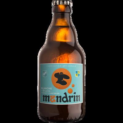 Bière aux 7 plantes de Chartreuse MANDRIN 3,3°, bouteille 33cl