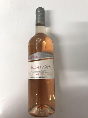 VDP des coteaux de l'Ardèche Eclat de rosé cave de lablachère 75cl