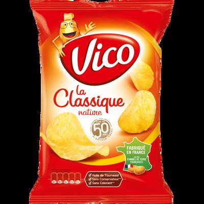 Chips classique salée VICO, sachet de 135g