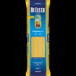 Linguine n°7 DE CECCO, paquet de 500g