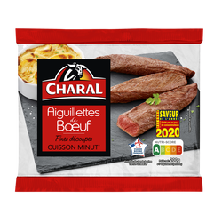 Aiguillette de boeuf, CHARAL, France, barquette, 200g