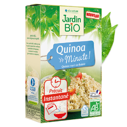 Quinoa Minute ! JARDIN BIO 250g