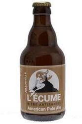 Bière Artisanale L'ÉCUME Américan Pale Ale 33CL