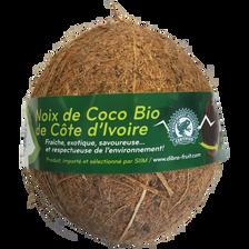 Noix de coco, BIO, Côte d'Ivoire, la pièce