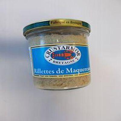 RILLETTES DE MAQUEREAU CRUSTARMOR 160g