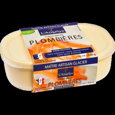 Glace plombières L'ANGELYS, 500g