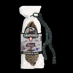 Saucisson sec au poivre LE PETIT SAVOYARD, 200g
