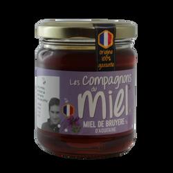 Miel de Bruyère d'Aquitaine COMPAGNONS DU MIEL, 250g
