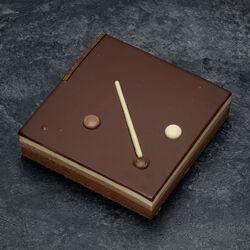 Plaisir 3 chocolats décongelé, 1 pièce, 100g