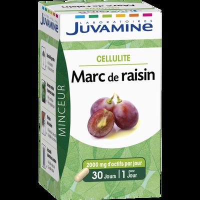 Minceur cellulite marc de raisin JUVAMINE, 30 gélules