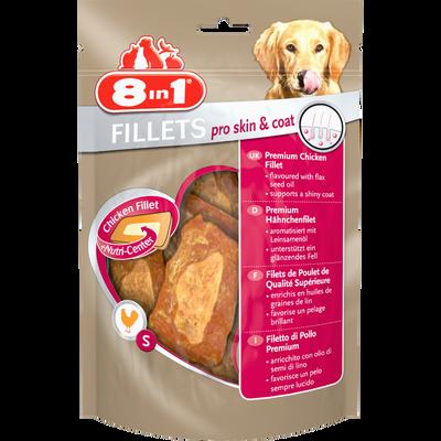 Filets skin/coats, 8 IN 1, 80g