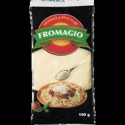 Fromagio râpé lait pasteurisé 28% de MG, 100g