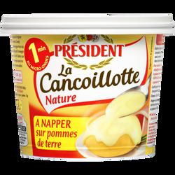 Spécialité fromagère pasteurisé fondue Cancoillotte Franc-Comtoise aubeurre PRESIDENT, 13%mg, 250g