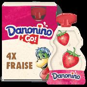 Danone Yaourt À Boire Fraise Danonino, 4x70g