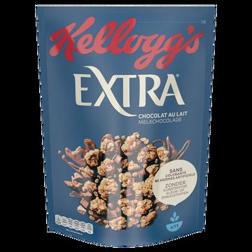 Kellogg's Céréales Extra Kellogg's Chocolat Au Lait, 500g