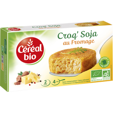 Croq' Soja au fromage CEREAL BIO, 200g