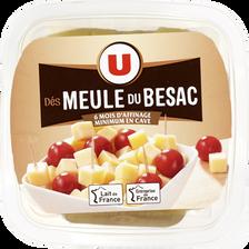 Dé de fromage au lait pasteurisé meule du Besac U, 33% de MG, 120g