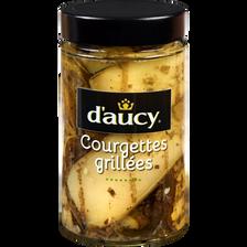 Courgettes grillées à l'huile, D'AUCY, 314ml soit 162g