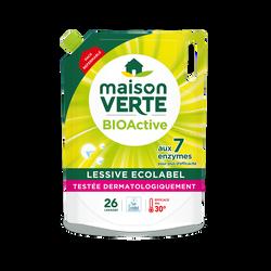 Lessive recharge bioactif 7 MAISON VERTE flacon 1,8 litres