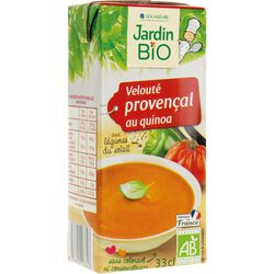 Soupe provençal au quinoa - Jardin Bio 33cl