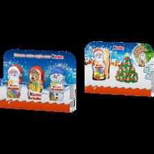 Chocolat mini moulage KINDER, 3x15g, 45g
