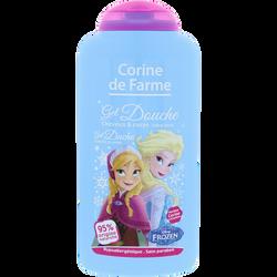 Gel douche Disney La reine des neiges CORINE DE FARME, flacon de 250ml