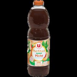 Boisson aux extraits de thé aromatisée saveur pêche U, 2l