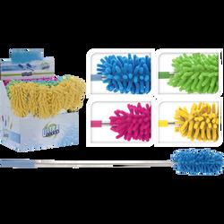 Plumeau en microfibres télescopique, coloris assortis
