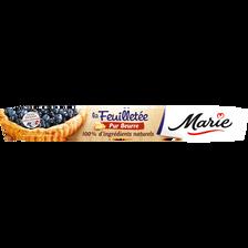 Pâte feuilletée pur beurre roulée MARIE, 230g
