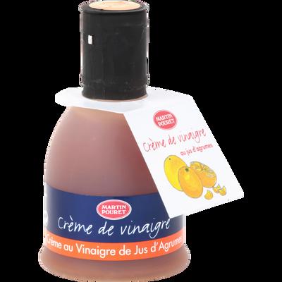 Crème de vinaigre à l'ancienne au jus d'agrumes, M.POURET, 180g