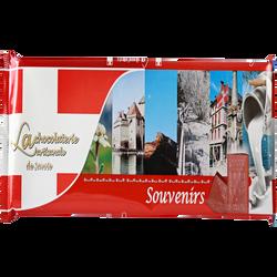 Tablette chocolat au lait souvenirs LA CHOCOLATERIE ARTISANALE, 300g
