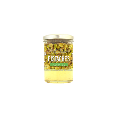 Pistaches au miel FAMILLE PERRONNEAU, 250g