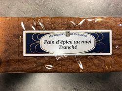 PAIN D'EPICE AU MIEL TRANCHE 500G- LES RUCHERS DE BOURGOGNE
