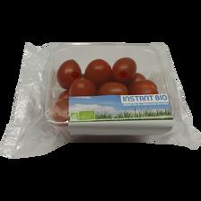 Tomate cerise, segment Les cerises allongées, BIO, catégorie 2, Espagne, barquette, 250g