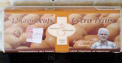 OEUFS EXTRA FRAIS GROS X12