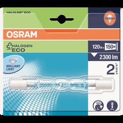 Ampoule Eco crayon court OSRAM, 150W R7S