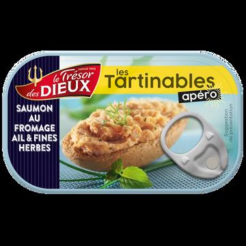 Kellogg's Tartinable Au Saumon, Au Fromage Et À L'ail & Fines Herbes Le Trésor Des Dieux, 90g
