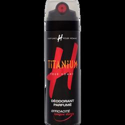 Déodorant Titanium H POUR HOMME, 200ml