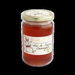 Miel de fleurs sauvages liquide France LES RUCHERS DE BOURGOGNE, 375g