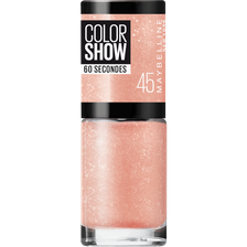 Vernis à ongles colorshow 46 sugar crystals MAYBELLINE, nu